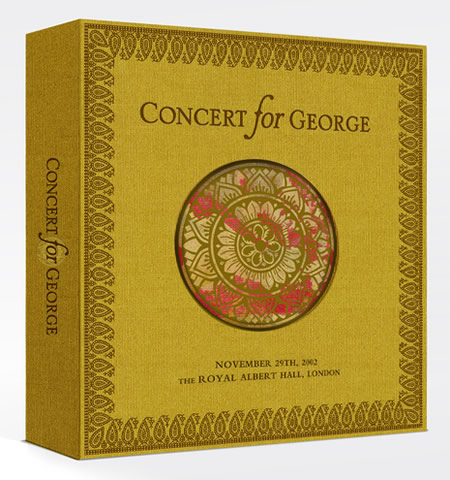 Concert For George Deluxe BoxSet Packshot